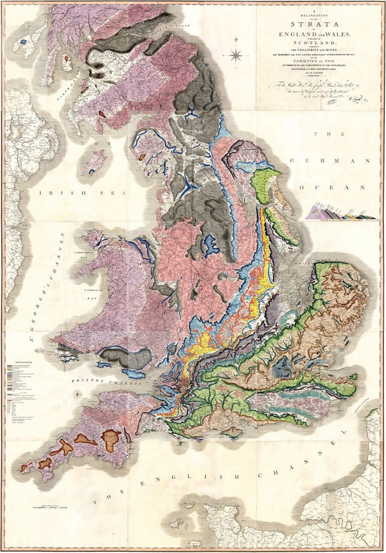 Early Maps of Geologic Strata, an Oliver Sacks Documentary and a New Science Podcast