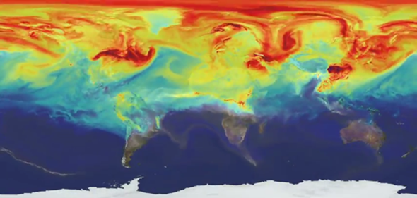 NASA Shows Stark Year in the Life of Gas Causing Global Warming [Video]