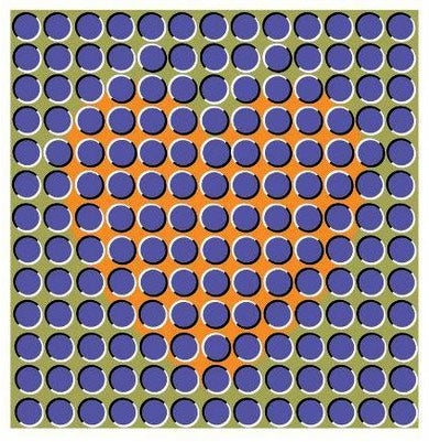 optical illusion illusions heart move