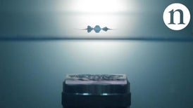 Acoustic Holograms Create Complex Floating Patterns