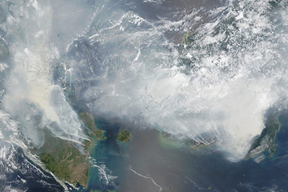 Hellish Fires in Indonesia Spread Health, Climate Problems