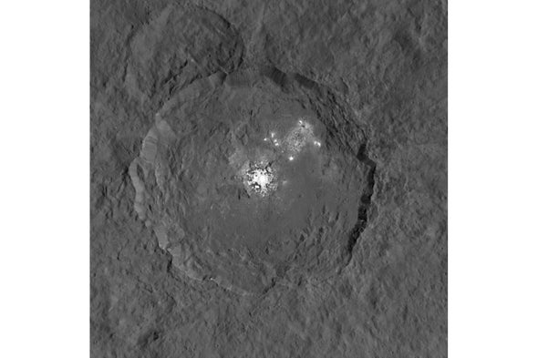 Astronomers See Changes on Dwarf Planet's Surface