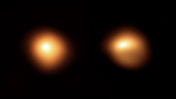 Mysterious Faded Star Betelgeuse Has Started to Brighten Again