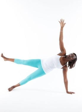 Yoga Side Plank Position