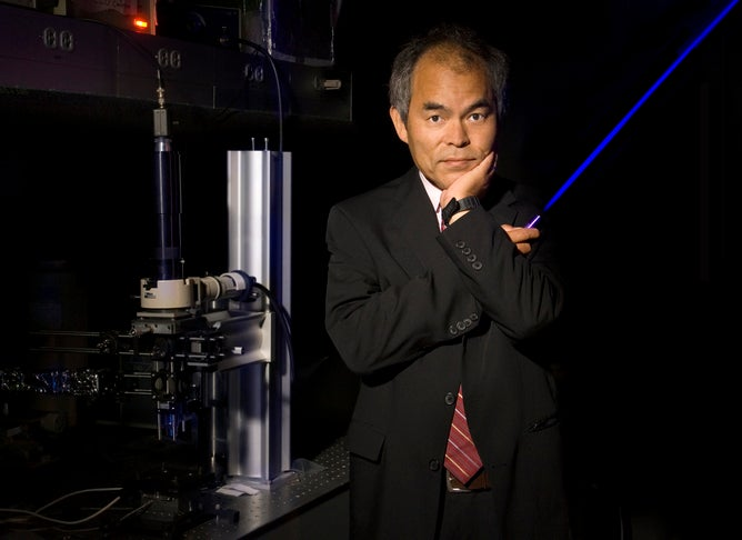Your Phone Screen Just Won the Nobel Prize in Physics