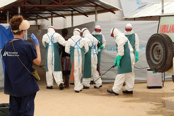 Ebola Infections Fewer Than Predicted by Disease Models
