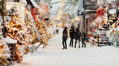 For a White Christmas This Year, Try Alaska