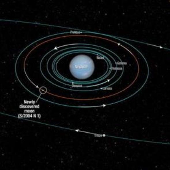 Tiny New Moon Discovered around Neptune