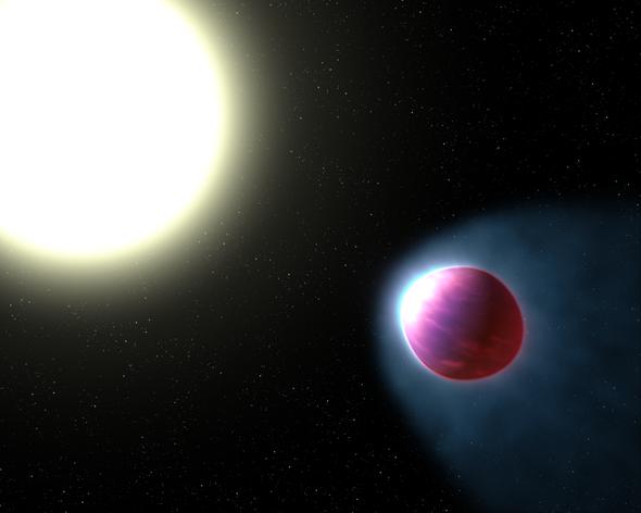 Hubble Detects Alien Stratosphere