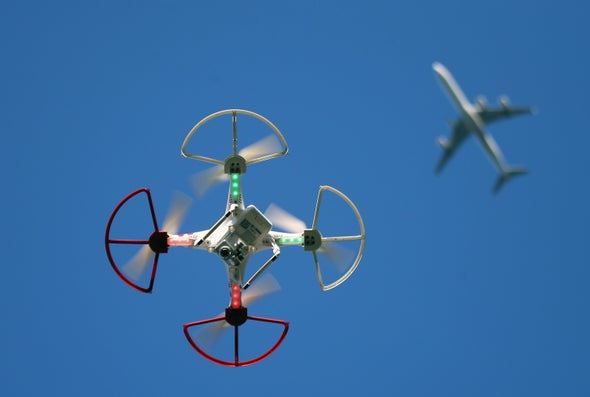 Here's How Drones Do (and Don't) Threaten Passenger Aircraft