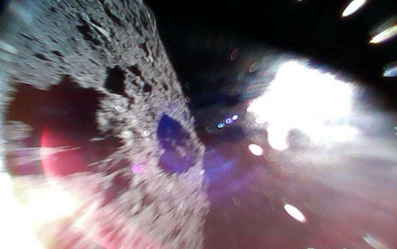 Japanese Mission Becomes first to Land Rovers on Asteroid