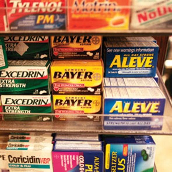 Painkillers Thwart Prozac