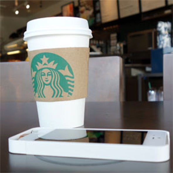 Starbucks to Offer Wireless Caffeine for Smartphones