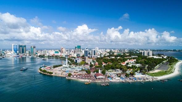 New Walls Aim to Hold Back Rising Seas off Tanzania