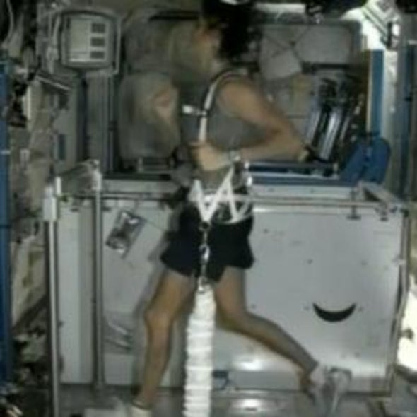 NASA Astronaut Completes First Triathlon in Space