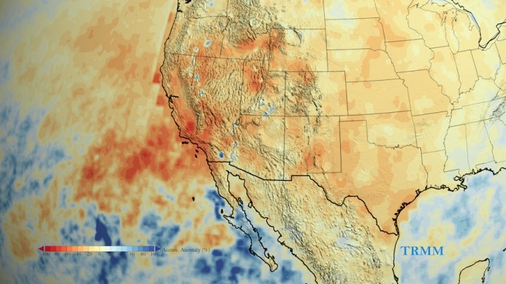 Missing: 1 Year's Worth of California Rain