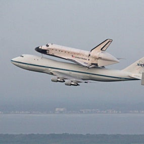 Space Shuttles, Lasers and Doomsday Bases: Amazing Payloads for 747s [Slide Show]