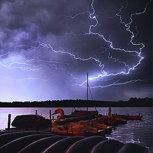 Lightning-Detection Network Tested Out for Storm Tracking