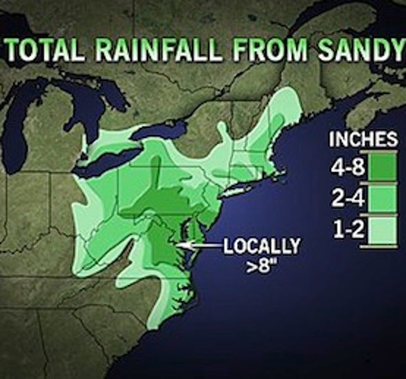 The Stats Are In: Superstorm Sandy Totals
