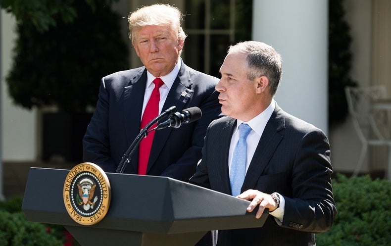 Trump Administration Is Repealing Obama's Clean Power Plan