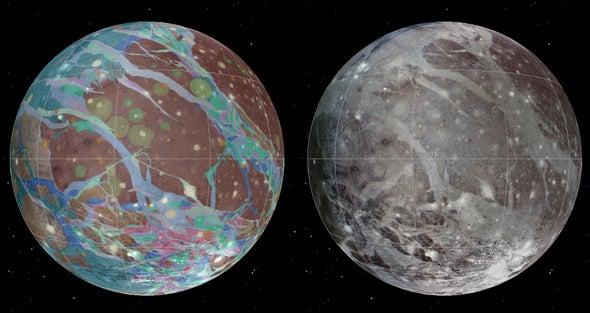 NASA's Juno Set for Close Encounter with Jupiter's Moon Ganymede