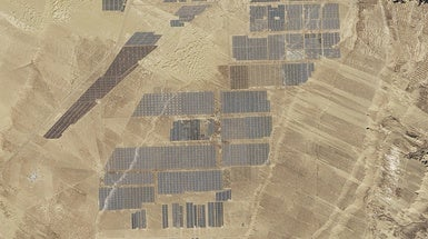 What 4 Million Solar Panels Look Like from Space