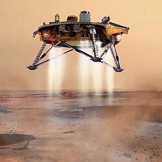 NASA Holds Breath for Phoenix Mars Lander's Touchdown