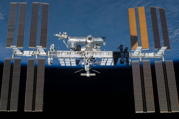 "Space Station Commander: It's ""Absolutely a Shame"" to Suggest Astronauts Caused Leak"