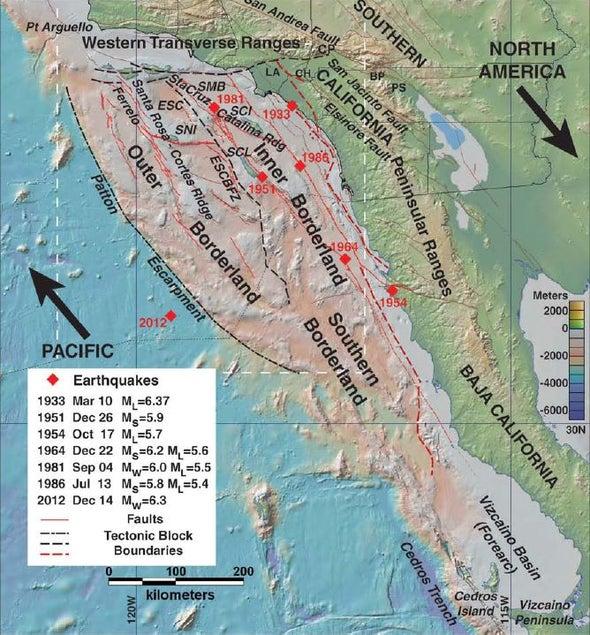 Beyond San Andreas: Hidden Sea Faults Threaten Giant California Quakes