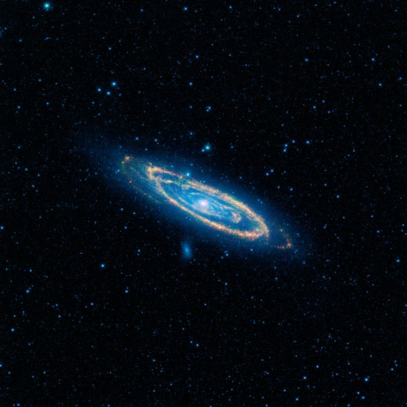 WISE gives Milky Way's closest sibling a new look