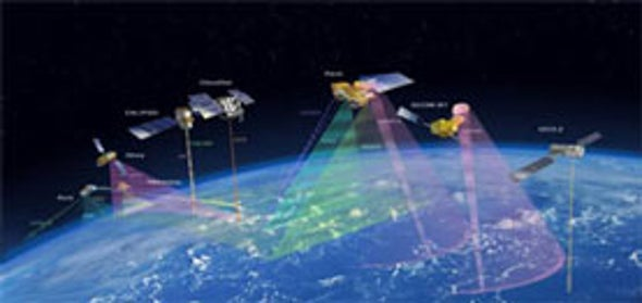 """Space-based """"A-Train"""" Satellites Set to Provide More Accurate Climate Data"""