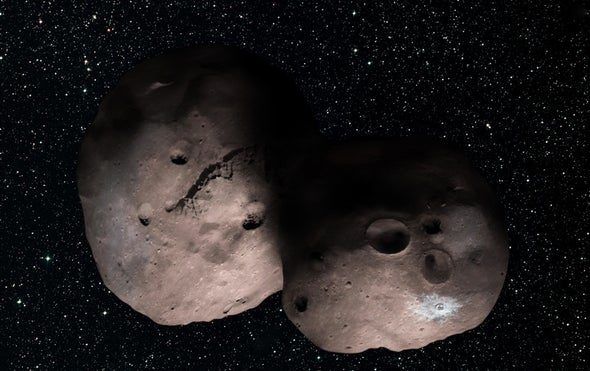 NASA's Pluto Probe May See Double During Next Flyby