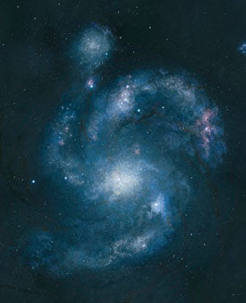 Astronomers Spot the Oldest Prominent Spiral Galaxy