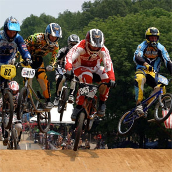 Beijing Olympics: BMX Bikers Search for Gold on Laoshan Mountain