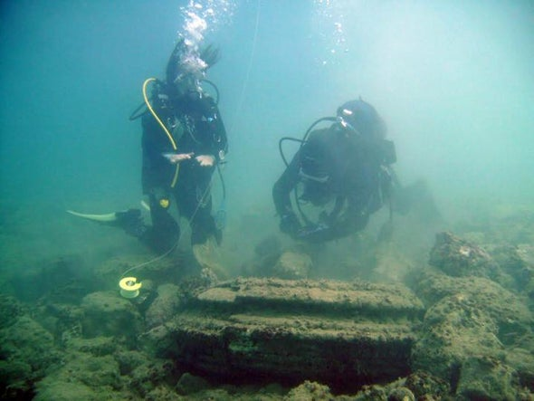 "Underwater ""Lost City"" Built by Microbes?"