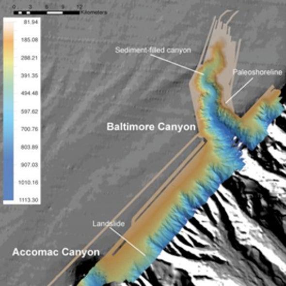 U.S. East Coast Tsunami Risk Investigated with Sonar