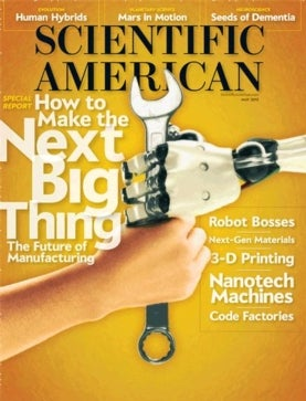 Scientific American Volume 308, Issue 5