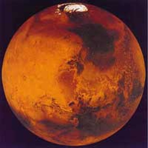 Martian Climate Influenced by Orbital Variations