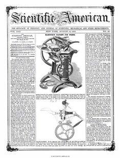 Scientific American Volume 13, Issue 49