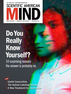 Scientific American Mind, Volume 29, Issue 4
