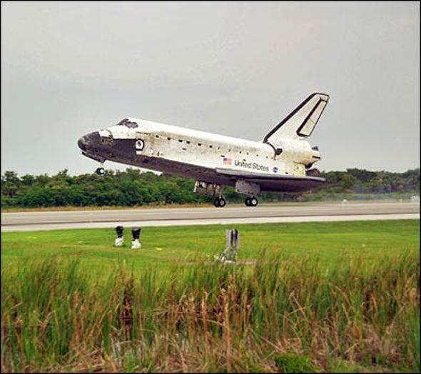 Shuttle's Safe Return