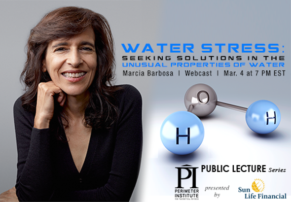 Watch Live Today: The Physics of Water [Video]