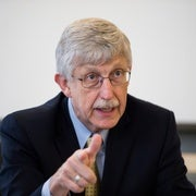 NIH Director Francis Collins to Stay On Under Trump, For Now