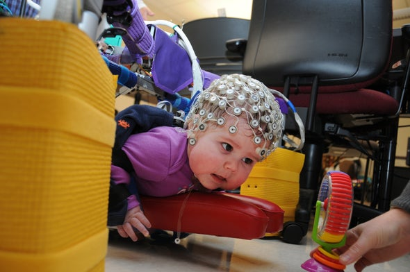 New Robot Helps Babies with Cerebral Palsy Learn to Crawl