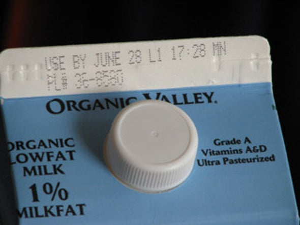 Why does organic milk last so much longer than regular milk?