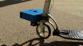 Portable Engine Makes Bike Sharing Easier