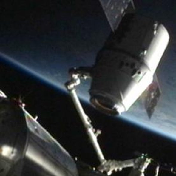 Private Capsule Set to Launch Space Station Cargo Next Month