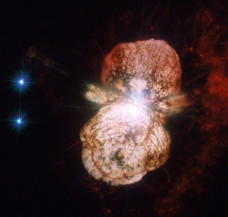 Fact or Fiction?: The Explosive Death of Eta Carinae Will Cause a Mass Extinction