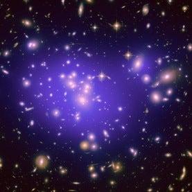 Dark matter map in galaxy cluster Abell 1689