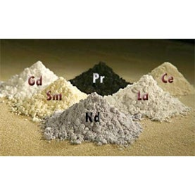 rare earth minerals, japan, vietnam,
